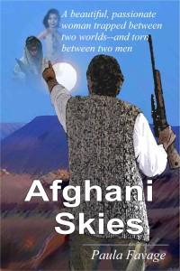 Afghani Skies by Paula Favage