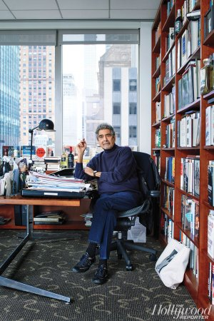 Knopf Editor Sonny Mehta Keeps 'Fifty Shades of Grey' on His Office Shelves - Hollywood Reporter